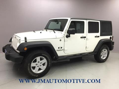 2009 Jeep Wrangler Unlimited for sale in Naugatuck, CT