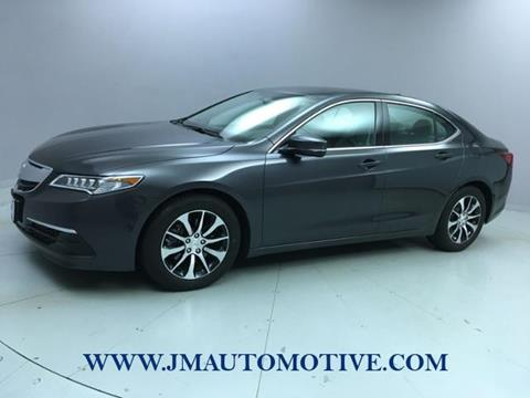 2015 Acura TLX for sale in Naugatuck, CT