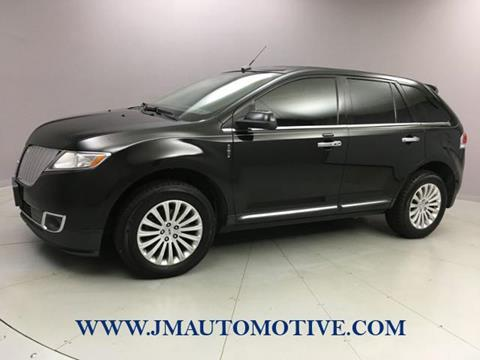 2013 Lincoln MKX for sale in Naugatuck, CT