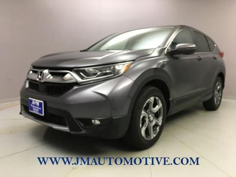 2017 Honda CR-V for sale in Naugatuck, CT