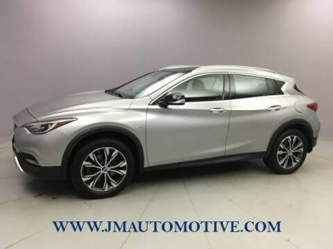 2017 Infiniti QX30 for sale at J & M Automotive in Naugatuck CT