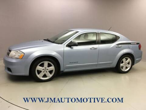 2013 Dodge Avenger for sale at J & M Automotive in Naugatuck CT