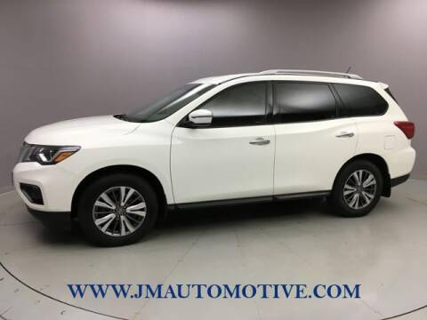 2018 Nissan Pathfinder for sale at J & M Automotive in Naugatuck CT