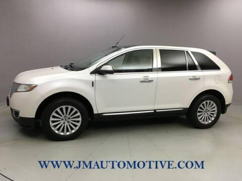 2012 Lincoln MKX for sale at J & M Automotive in Naugatuck CT