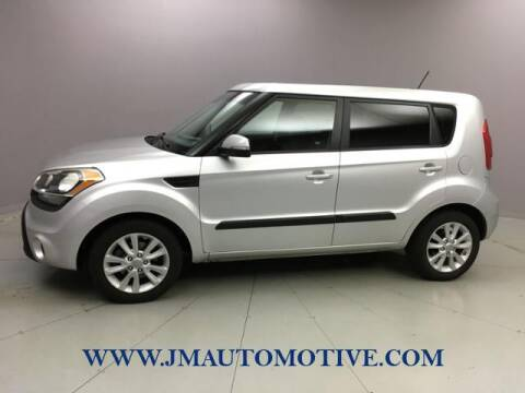 2013 Kia Soul for sale at J & M Automotive in Naugatuck CT