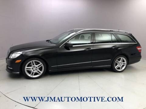 2013 Mercedes-Benz E-Class for sale at J & M Automotive in Naugatuck CT