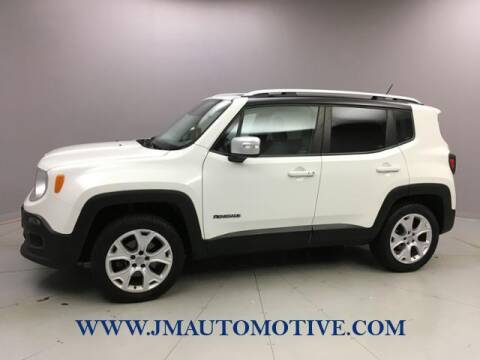 2015 Jeep Renegade for sale at J & M Automotive in Naugatuck CT