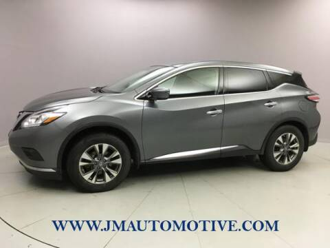 2015 Nissan Murano for sale at J & M Automotive in Naugatuck CT