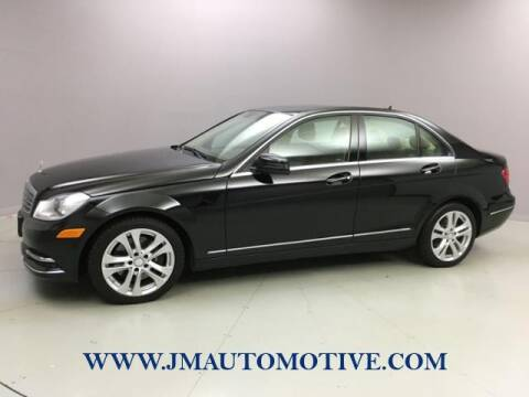 2014 Mercedes-Benz C-Class for sale at J & M Automotive in Naugatuck CT