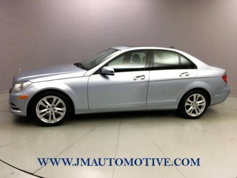 2013 Mercedes-Benz C-Class for sale at J & M Automotive in Naugatuck CT