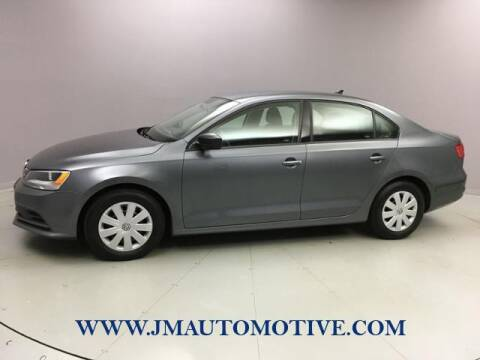 2015 Volkswagen Jetta for sale at J & M Automotive in Naugatuck CT