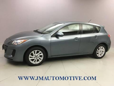 2013 Mazda MAZDA3 for sale at J & M Automotive in Naugatuck CT