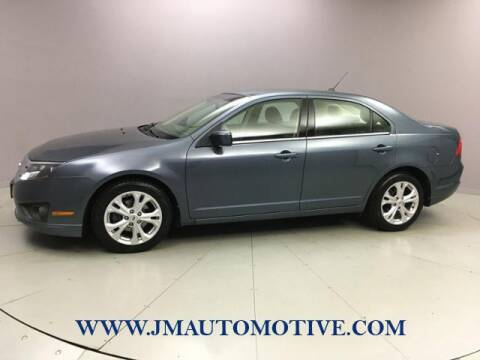 2012 Ford Fusion for sale at J & M Automotive in Naugatuck CT