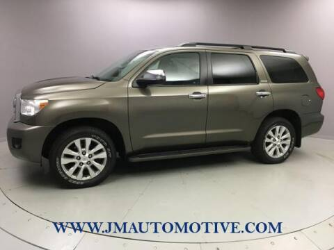 2013 Toyota Sequoia for sale at J & M Automotive in Naugatuck CT