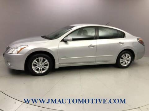 2010 Nissan Altima Hybrid for sale at J & M Automotive in Naugatuck CT