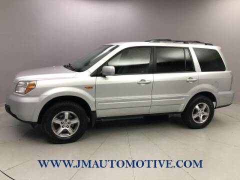 2007 Honda Pilot for sale at J & M Automotive in Naugatuck CT