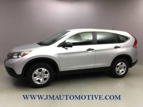 2013 Honda CR-V for sale at J & M Automotive in Naugatuck CT