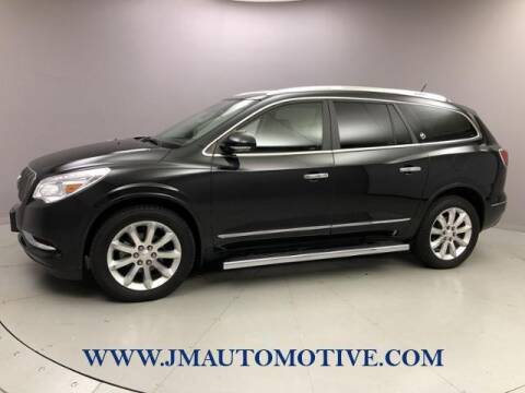 2014 Buick Enclave for sale at J & M Automotive in Naugatuck CT