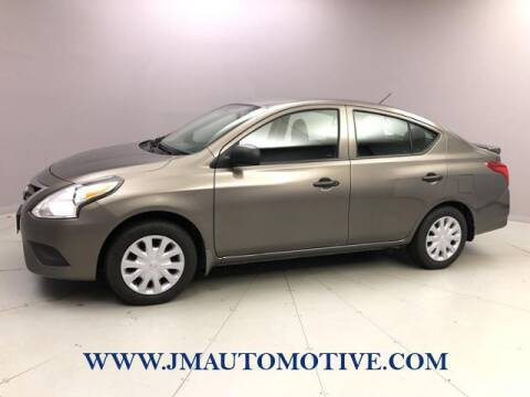 2015 Nissan Versa for sale at J & M Automotive in Naugatuck CT