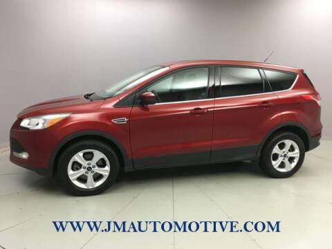 2016 Ford Escape for sale at J & M Automotive in Naugatuck CT