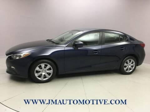 2016 Mazda MAZDA3 for sale at J & M Automotive in Naugatuck CT