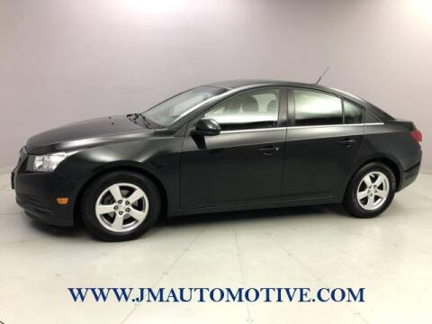2013 Chevrolet Cruze for sale at J & M Automotive in Naugatuck CT