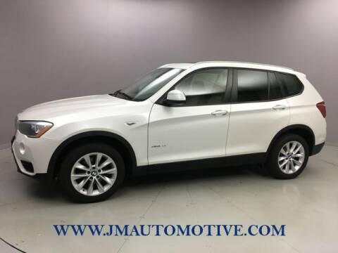 2016 BMW X3 for sale at J & M Automotive in Naugatuck CT
