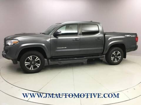 2017 Toyota Tacoma for sale at J & M Automotive in Naugatuck CT
