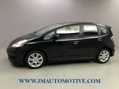 2009 Honda Fit for sale at J & M Automotive in Naugatuck CT