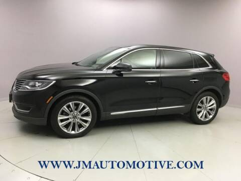 2017 Lincoln MKX for sale at J & M Automotive in Naugatuck CT