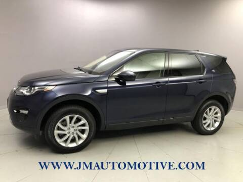 2017 Land Rover Discovery Sport for sale at J & M Automotive in Naugatuck CT