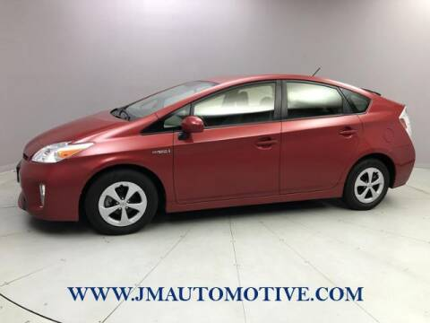 2015 Toyota Prius for sale at J & M Automotive in Naugatuck CT