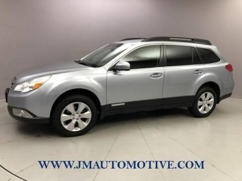 2012 Subaru Outback for sale at J & M Automotive in Naugatuck CT