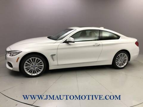 2015 BMW 4 Series for sale at J & M Automotive in Naugatuck CT