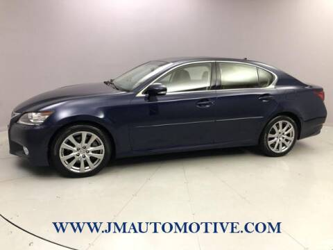 2013 Lexus GS 350 for sale at J & M Automotive in Naugatuck CT