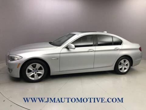 2013 BMW 5 Series for sale at J & M Automotive in Naugatuck CT