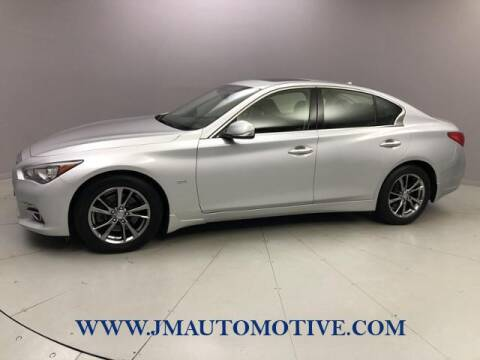 2017 Infiniti Q50 for sale at J & M Automotive in Naugatuck CT