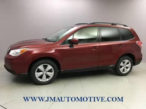 2014 Subaru Forester for sale at J & M Automotive in Naugatuck CT