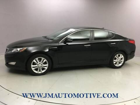 2013 Kia Optima for sale at J & M Automotive in Naugatuck CT