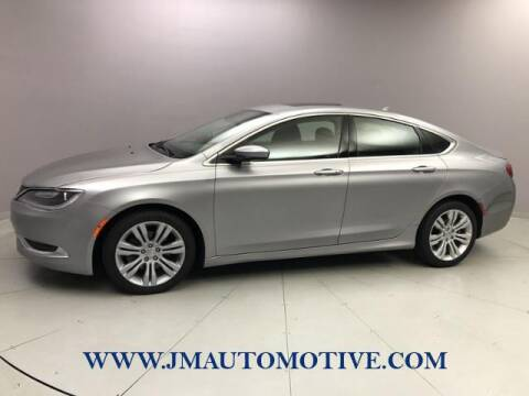 2016 Chrysler 200 for sale at J & M Automotive in Naugatuck CT