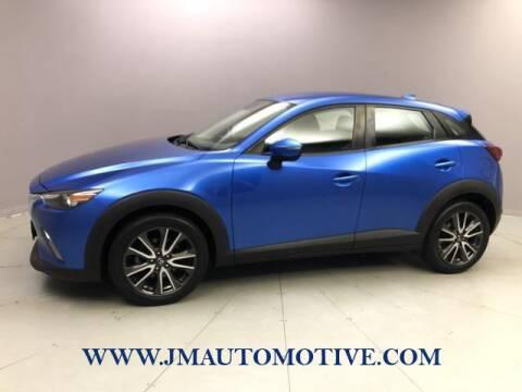 2017 Mazda CX-3 for sale at J & M Automotive in Naugatuck CT