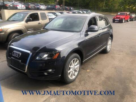 2012 Audi Q5 for sale at J & M Automotive in Naugatuck CT