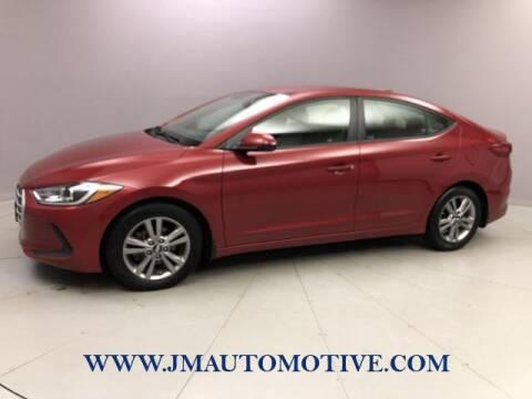 2017 Hyundai Elantra for sale at J & M Automotive in Naugatuck CT