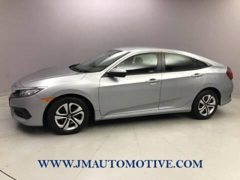2018 Honda Civic for sale at J & M Automotive in Naugatuck CT