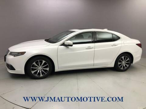 2015 Acura TLX for sale at J & M Automotive in Naugatuck CT