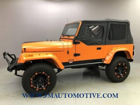 1991 Jeep Wrangler for sale at J & M Automotive in Naugatuck CT