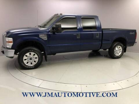 2008 Ford F-250 Super Duty for sale at J & M Automotive in Naugatuck CT