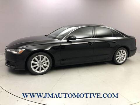 2016 Audi A6 for sale at J & M Automotive in Naugatuck CT