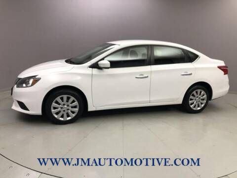 2017 Nissan Sentra for sale at J & M Automotive in Naugatuck CT