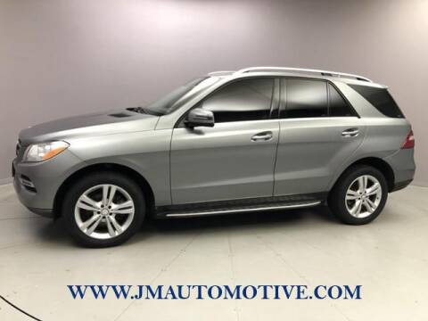 2014 Mercedes-Benz M-Class for sale at J & M Automotive in Naugatuck CT